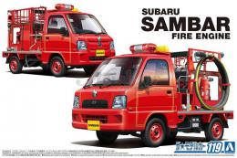 AOSHIMA 1/24 Subaru TT2 Sambar The Fire