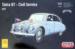 ATTACK 1/72 Tatra 87 - Civil Service VIP (PROFI version)