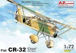 AZ MODEL 1/72 Fiat CR-32 Chirri over Spain (3x camo)