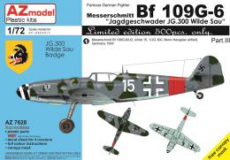 AZ MODEL 1/72 Bf 109G-6 JG.300 Limited Edition