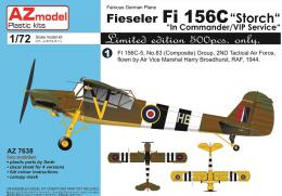 AZ MODEL 1/72 Fi 156C Storch in Commander/VIP service