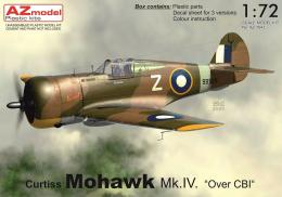 AZ MODEL 1/72 Mohawk Mk.IV Over CBI