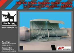 BLACKDOG 1/48 MH-53 E Dragon - outer engine  for ACAD