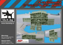 BLACKDOG 1/48 A-10 electronics for ITA