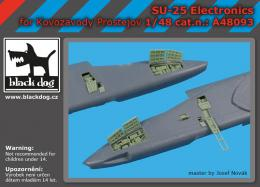 BLACKDOG 1/48 Su-25 electronics for KP