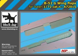 BLACKDOG 1/72 B-52 G wing flaps  for ITA