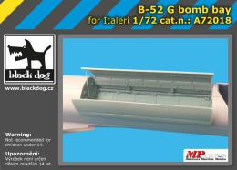 BLACKDOG 1/72 B-52 bomb bay  for ITA