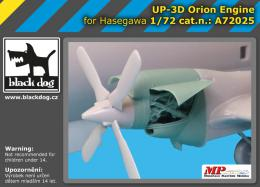 BLACKDOG 1/72 UP-3 D Orion - engine  for HAS