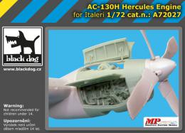 BLACKDOG 1/72 AC-130 H Hercules - engine  for ITAL