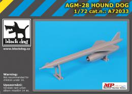BLACKDOG 1/72 AGM- 28 Hound Dog
