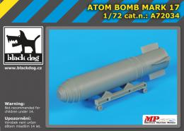 BLACKDOG 1/72 Atom bomb Mark 17