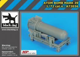 BLACKDOG 1/72 Atom bomb Mark 39