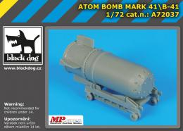 BLACKDOG 1/72 Atom bomb Mark 4BLACKDOG 1/B-41