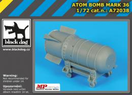 BLACKDOG 1/72 Atom bomb Mark 36