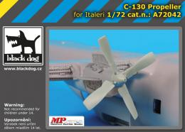 BLACKDOG 1/72 C-130 propeller  for ITA