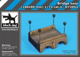 BLACKDOG 1/72 Bridge base  for 100x90 mm