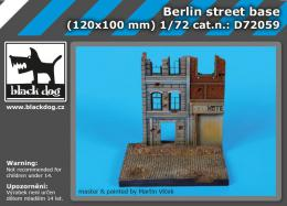 BLACKDOG 1/72 Berlin street base (120x100 mm)