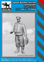 BLACKDOG 1/32 USAAF Bomber aircraft commander 1940-45