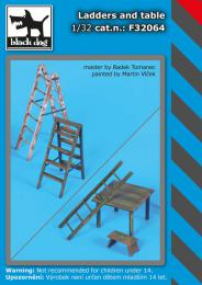 BLACKDOG 1/32 Ladders and table
