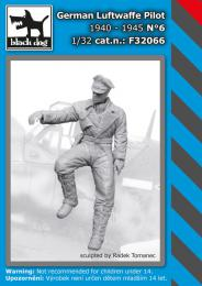 BLACKDOG 1/32 German Luftwafe pilot 1940-45 No.6 (1 fig.)