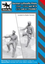 BLACKDOG 1/32 German Luftwaffe pilots 1940-45 No.3 (2 fig.)