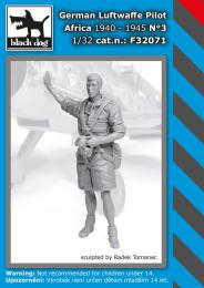 BLACKDOG 1/32 German Luftwaffe pilot Africa 1940-45 No.3