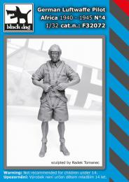 BLACKDOG 1/32 German Luftwaffe pilot Africa 1940-45 No.4