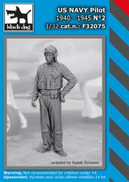BLACKDOG 1/32 US NAVY pilot 1940-45 No.2 (1 fig.)