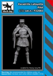 BLACKDOG 1/32 Escadrille Lafayete Pilot (1 fig.)