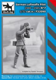 BLACKDOG 1/32 German Luftwaffe pilot 1940-45 No.7 (1 fig.)