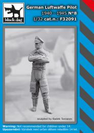 BLACKDOG 1/32 German Luftwaffe pilot 1940-45 No.8 (1 fig.)