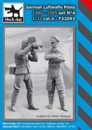 BLACKDOG 1/32 German Luftwaffe pilots 1940-45 No.4 (2 fig.)