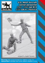 BLACKDOG 1/32 US NAVY aircraft carrier personnel set 1941-45