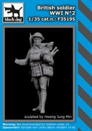 BLACKDOG 1/35 British Soldier WWI No.2 (1 fig.)