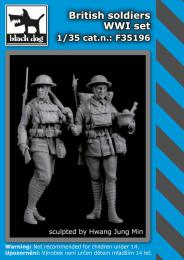BLACKDOG 1/35 British Soldiers WWI set (2 fig.)