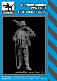 BLACKDOG 1/35 German Soldier WWI No.1 (1 fig.)