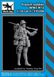 BLACKDOG 1/35 French soldier WWI No.1 (1 fig.)