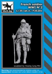 BLACKDOG 1/35 French soldier WWI No.2 (1 fig.)
