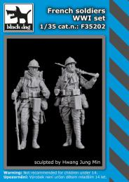 BLACKDOG 1/35 French soldiers WWI set  (2 fig.)