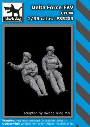 BLACKDOG 1/35 Delta Force FAV crew (2 fig.)