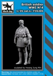 BLACKDOG 1/35 British Soldier WWI No.4 (1 fig.)