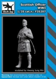 BLACKDOG 1/35 Scottish officer WWI (1 fig.)