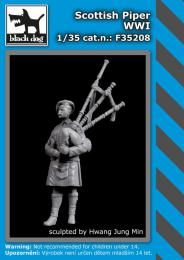 BLACKDOG 1/35 Scottish piper WWI (1 fig.)