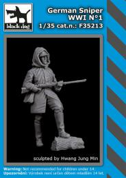 BLACKDOG 1/35 German sniper WWI No.1 (1 fig.)