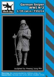BLACKDOG 1/35 German sniper WWI No.2 (1 fig.)