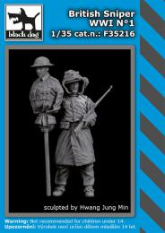BLACKDOG 1/35 British sniper WWI No.1 (1 fig.)