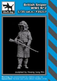 BLACKDOG 1/35 British sniper WWI No.2 (1 fig.)