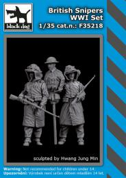 BLACKDOG 1/35 British snipers WWI set (2 fig.)