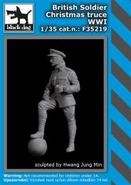 BLACKDOG 1/35 British soldier Christmas truce WWI for 1 fig.