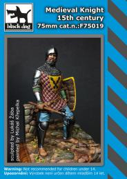 BLACKDOG 75mm Medieval Knight 15th Century  for resin figure
